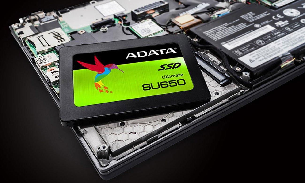 ADATA Ultimate SU650 Dla notebooków i komputerów stacjonarnych