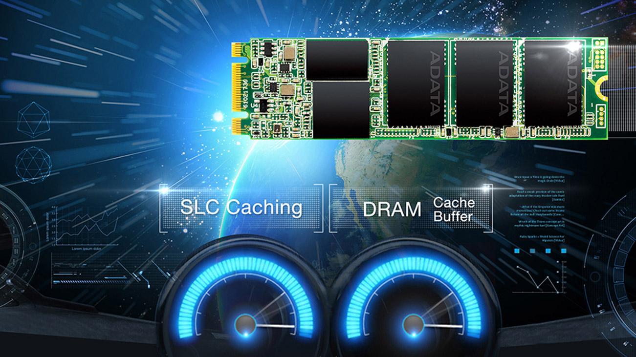 ADATA Ultimate SU800 SLC oraz bufor DRAM