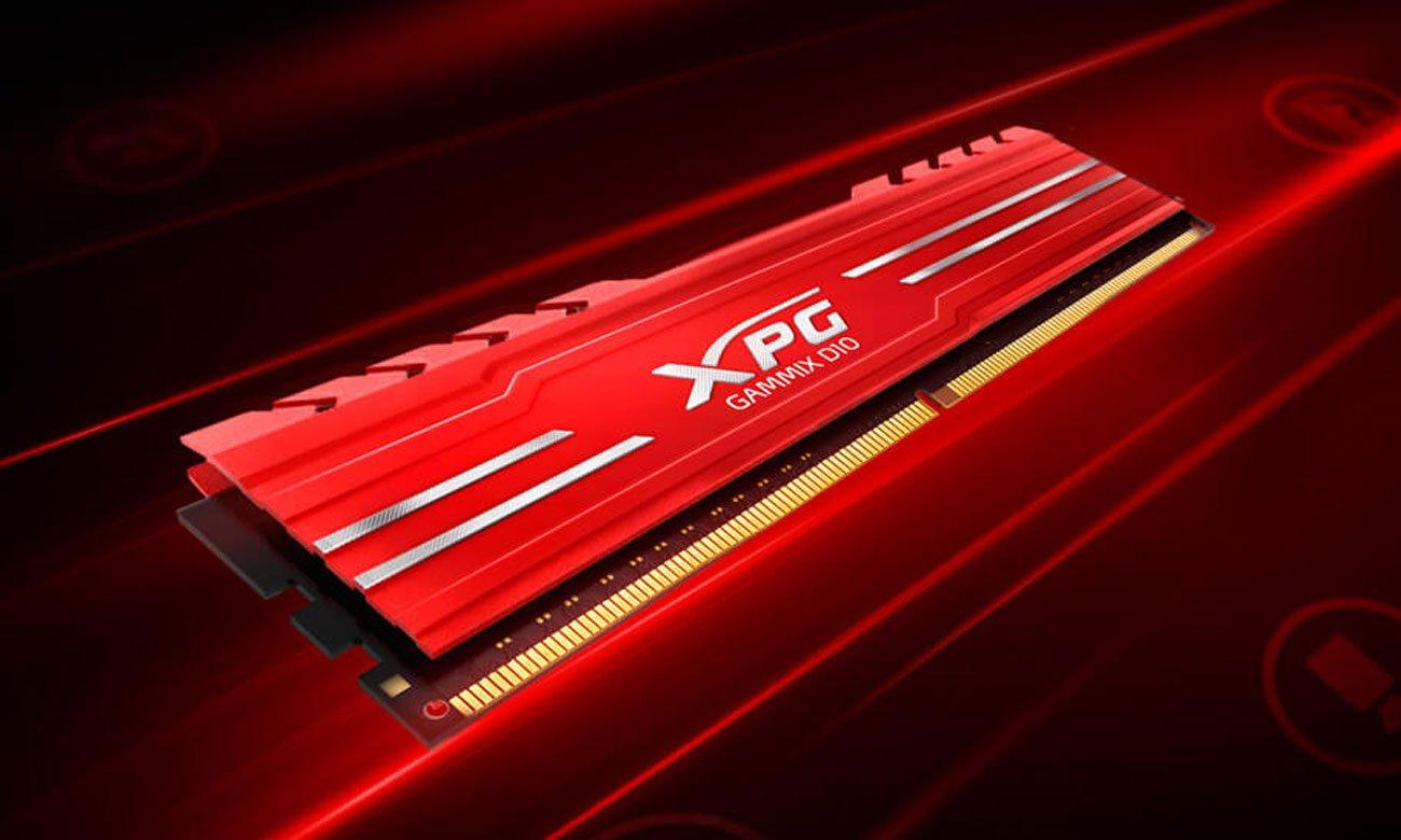 Moduł pamięci RAM DDR4 XPG GAMMIX D10 Doskonała stabilność pracy