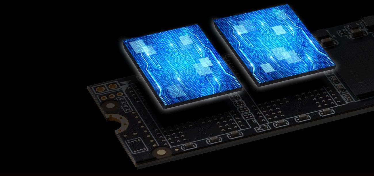 Dysk SSD XPG SX8200 PCIe Gen3x4 M.2 2280 Przekroczenie bariery szybkości