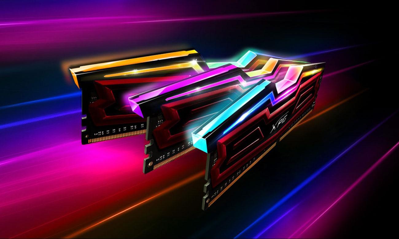XPG SPECTRIX D40 DDR4 RGB Wysoka wydajność i wizualne piękno