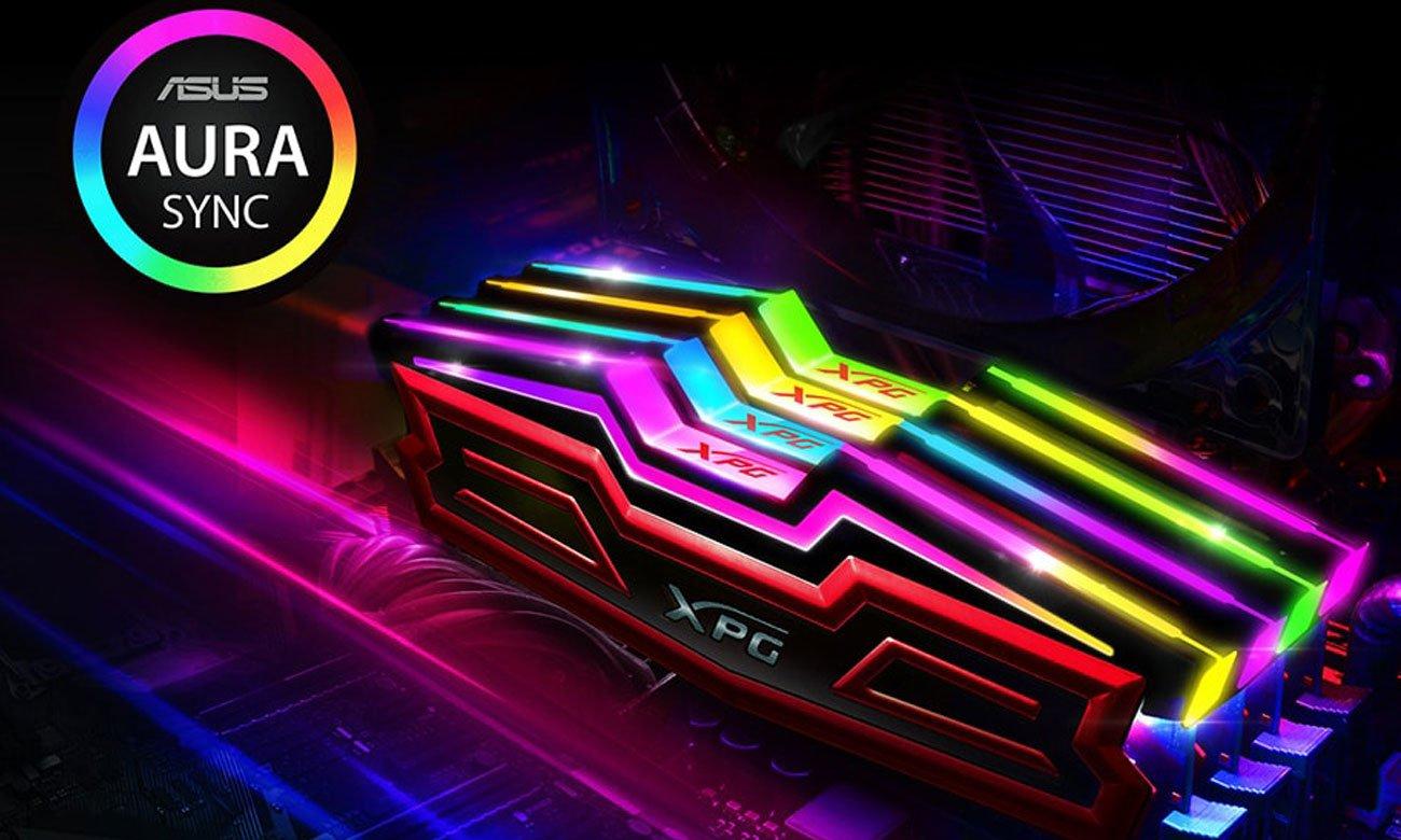 XPG SPECTRIX D40 DDR4 RGB Fascynujące podświetlenie RGB