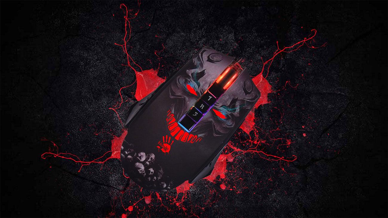 Mysz A4TECH BLOODY P85 Skull