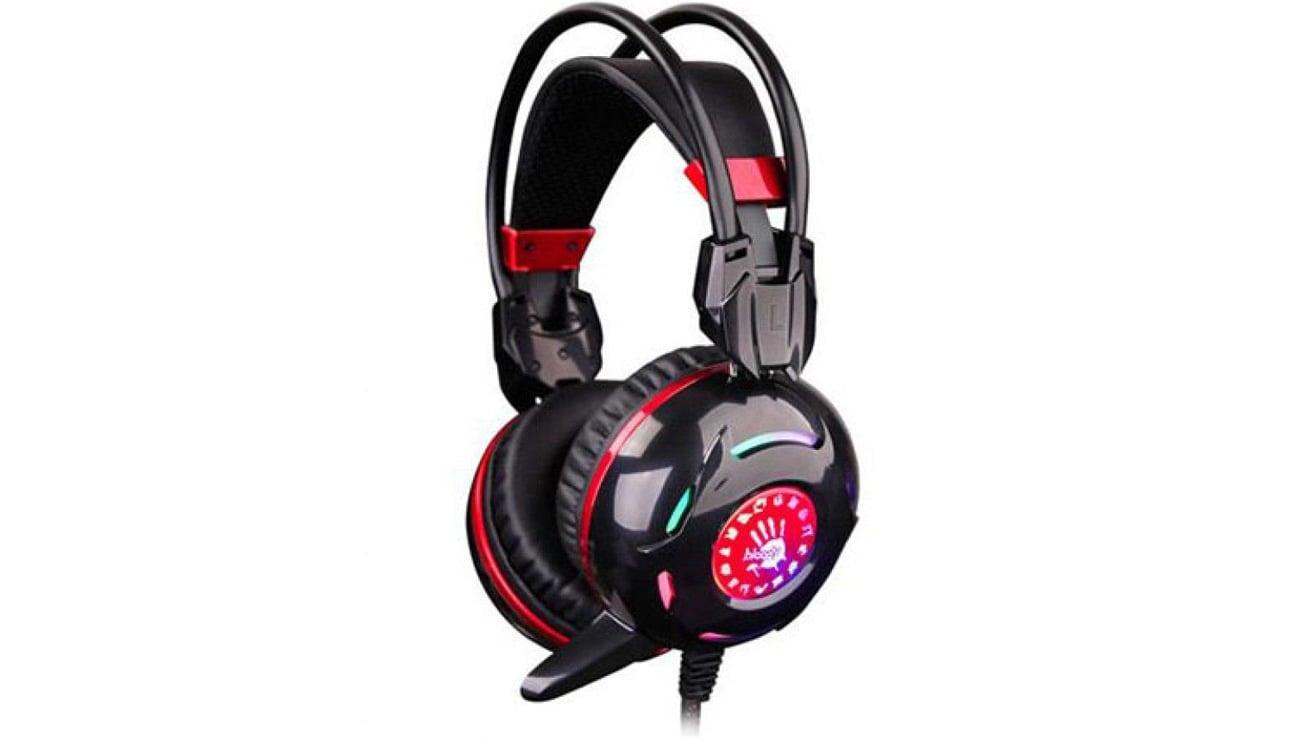 Słuchawki A4Tech Bloody G300 Czarne Wbudowany mikrofon
