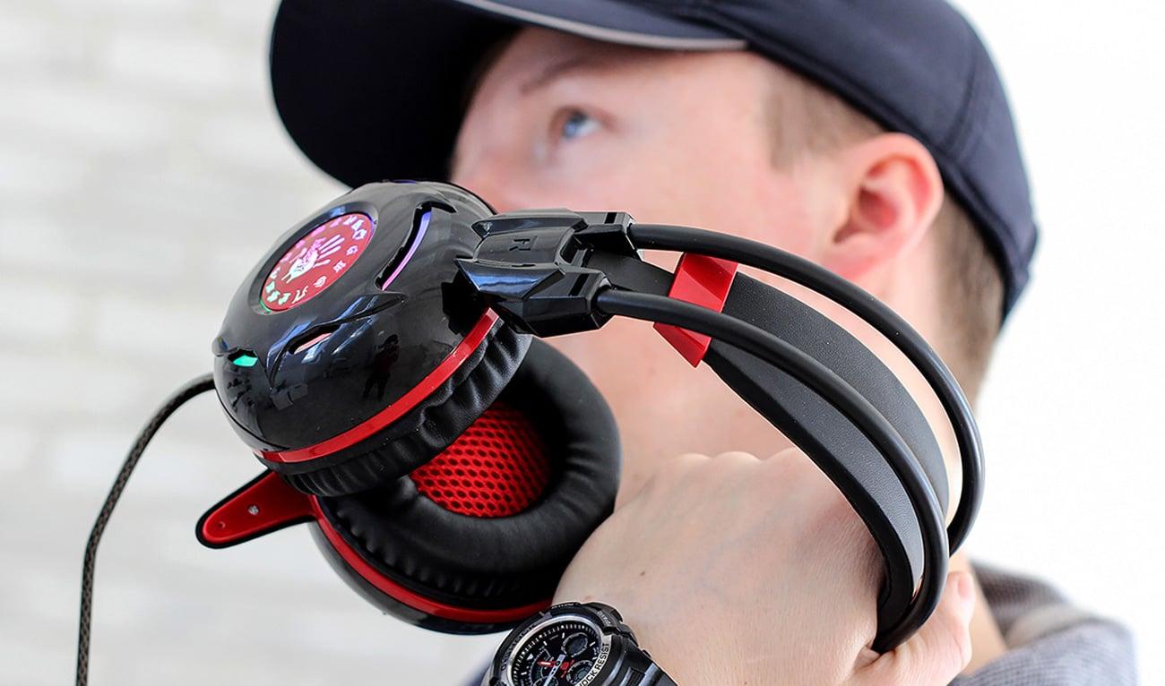 Słuchawki A4Tech Bloody G300 Czarne