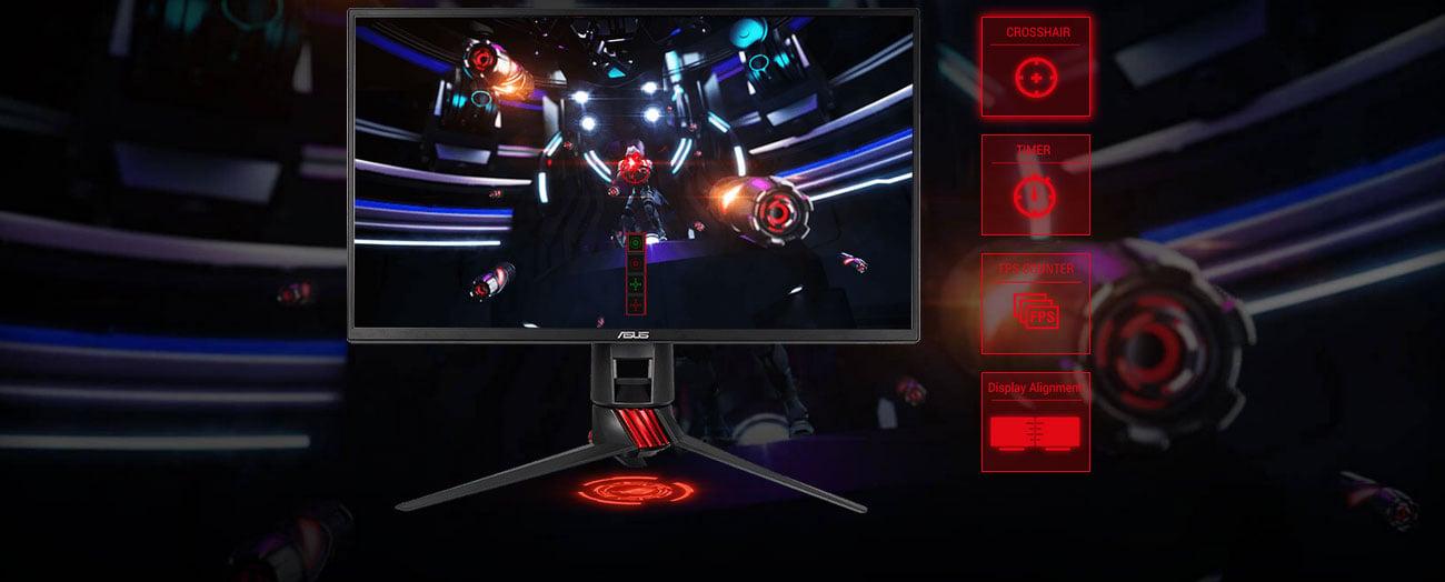 ASUS XG258Q Technologia ASUS GamePlus