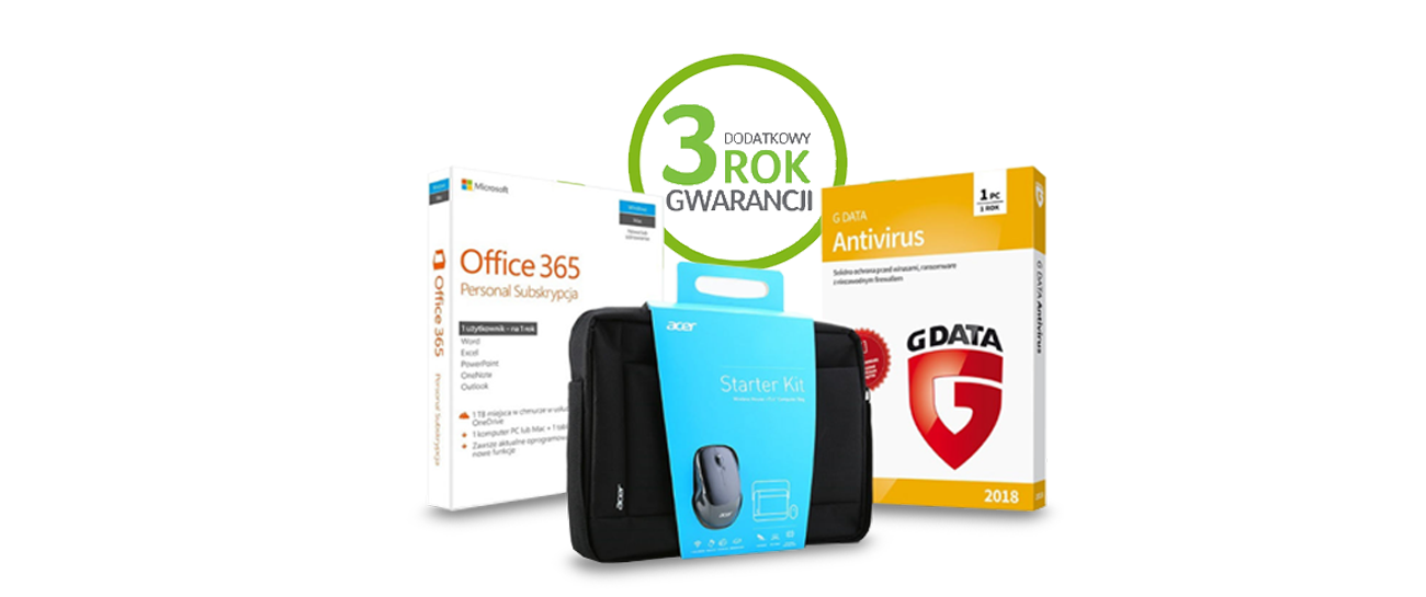 Promocja Acer akcja 8 generacja zestaw pakiet