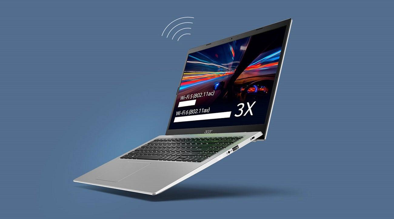 Acer Aspire 5 łączność WiFi