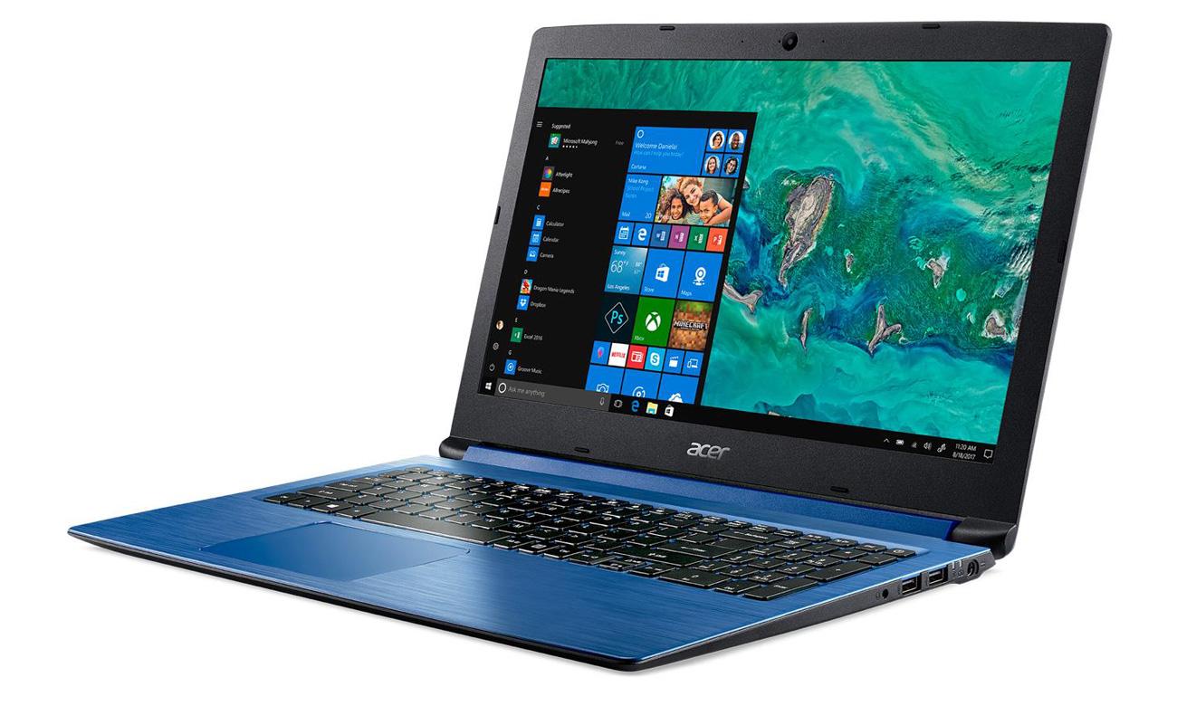 Intel UHD w Acer Aspire 3