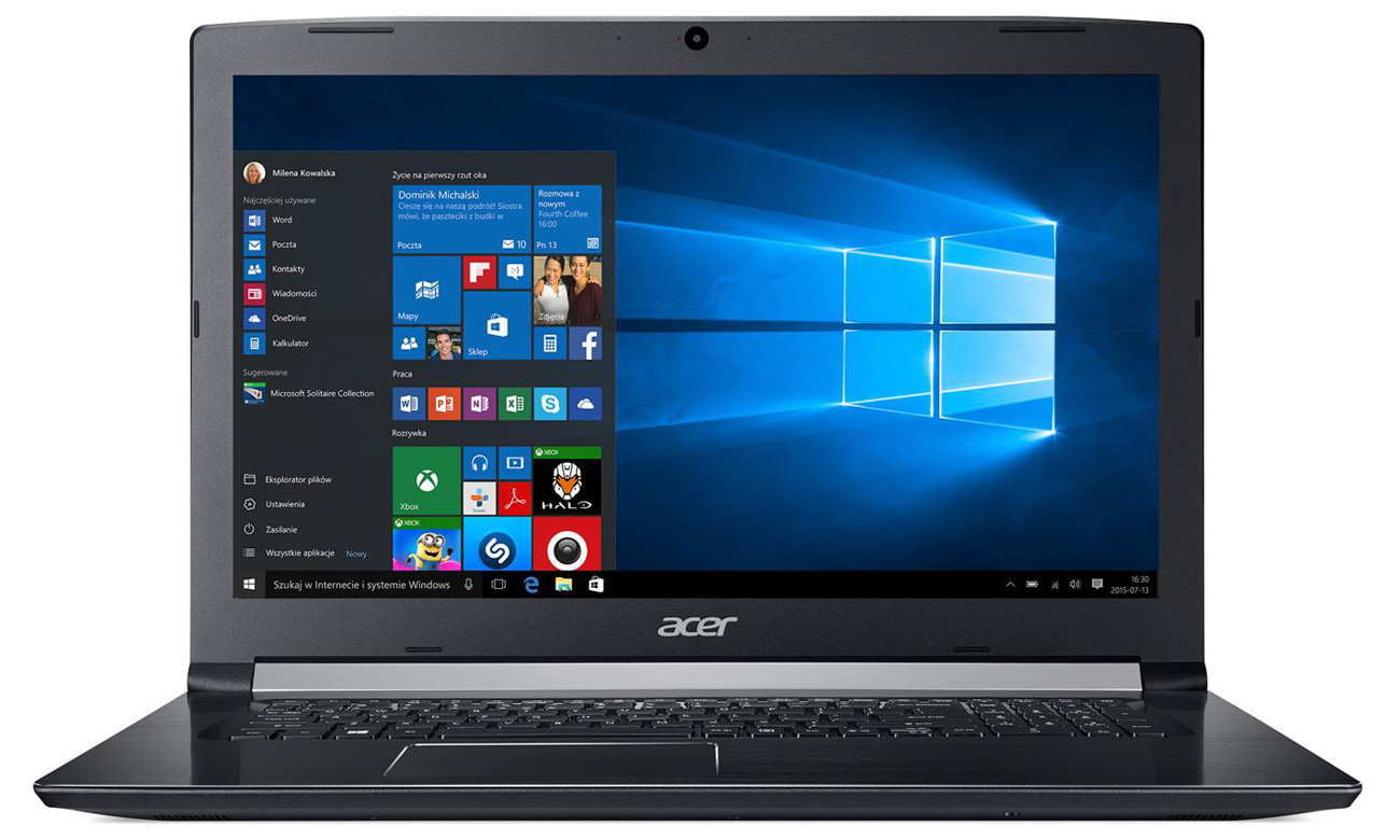 Laptop Acer Aspire 5 doskonały dźwięk