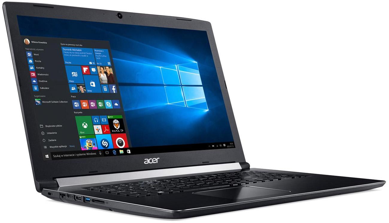 Procesor Intel Core i3 siódmej generacji w Acer Aspire 5