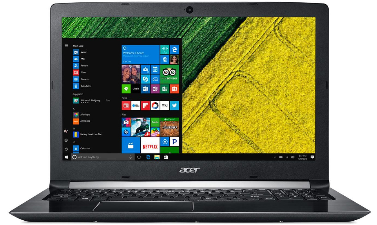 Acer Aspire 5 Karta graficzna NVIDIA GeForce 940MX