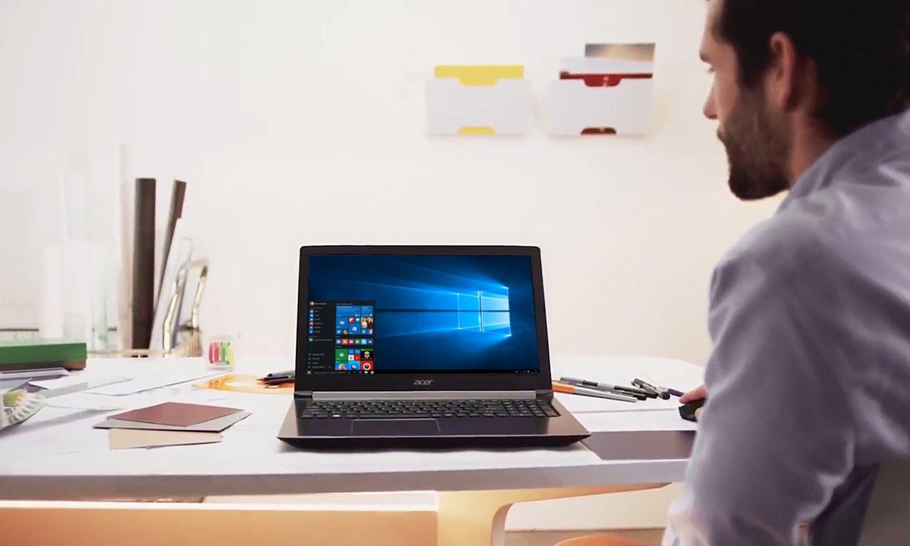 Procesor Intel Core i7 ósmejgeneracji w Acer Aspire 7
