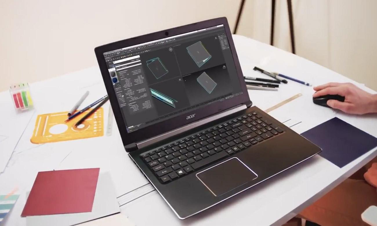 Acer Aspire 7 szybki dysk SSD