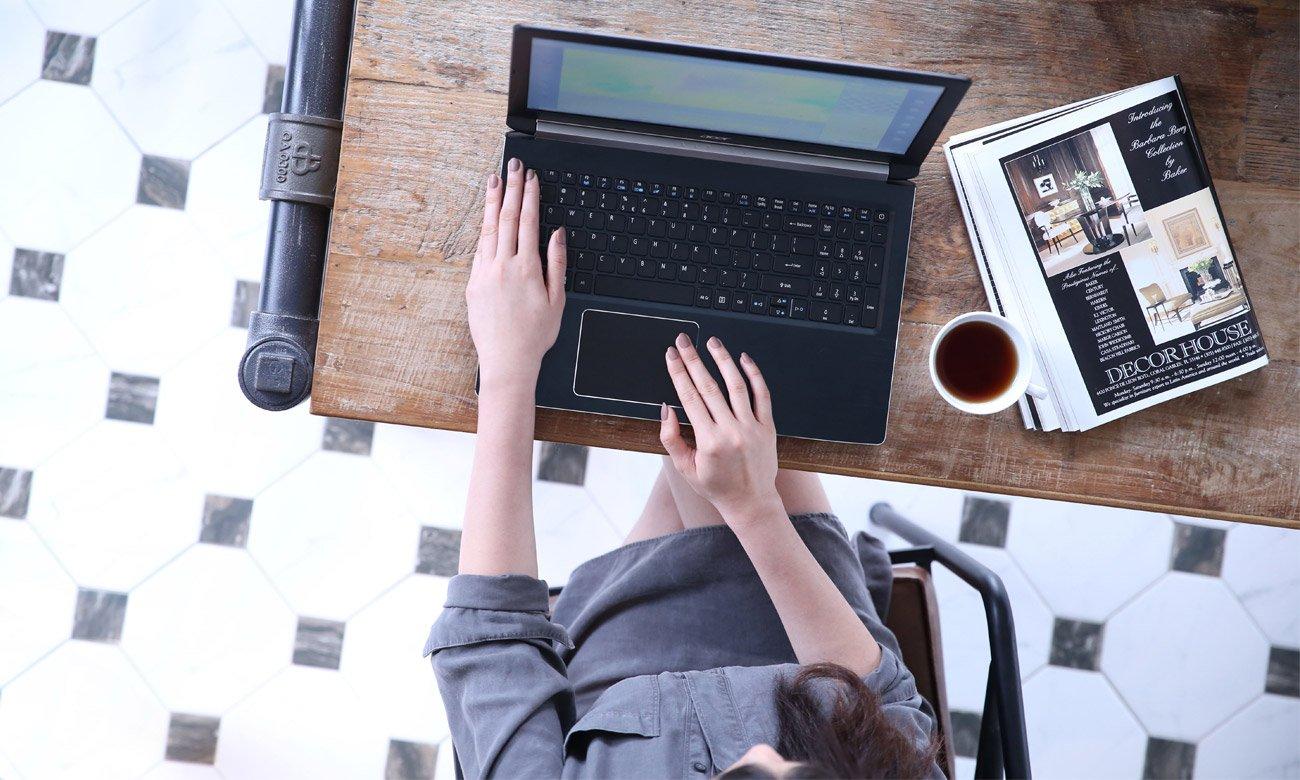 Acer Aspire 7 Wi-Fi ac z technologią 2x2 MIMO