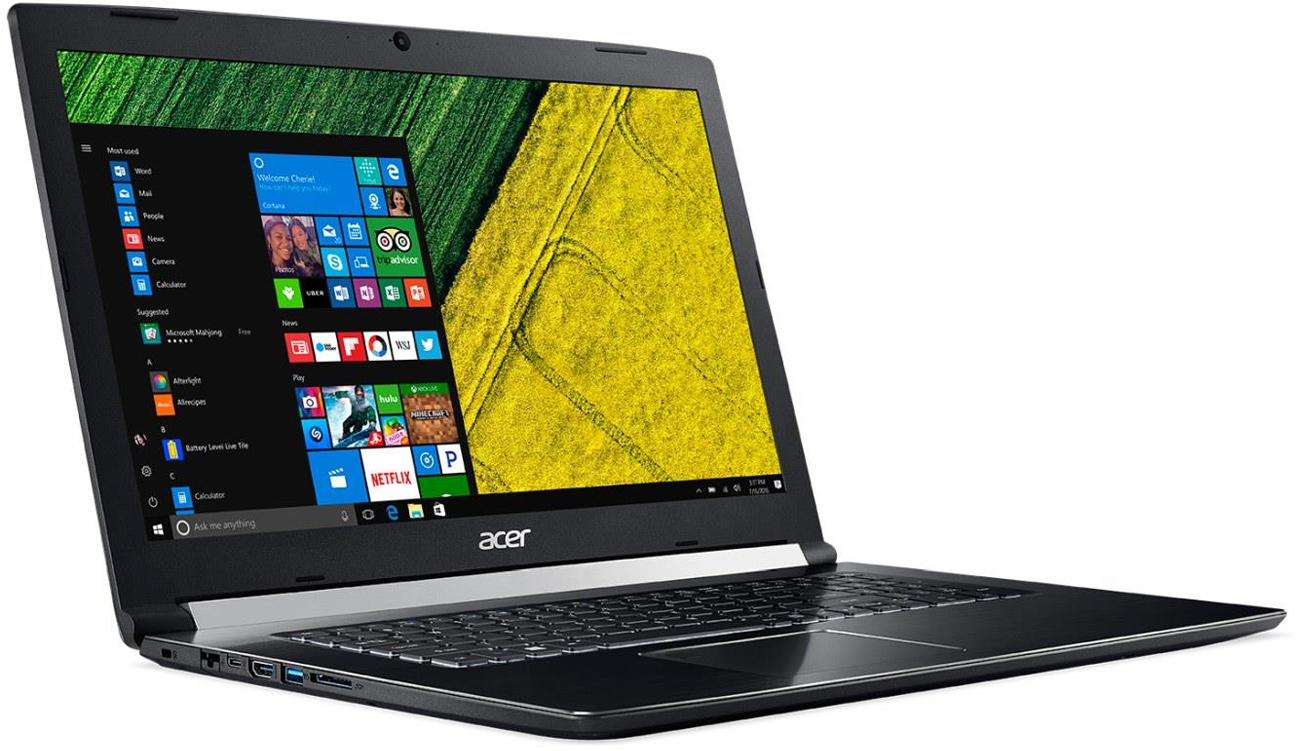 Acer Aspire 7 procesor intel core i5 siódmej generacji