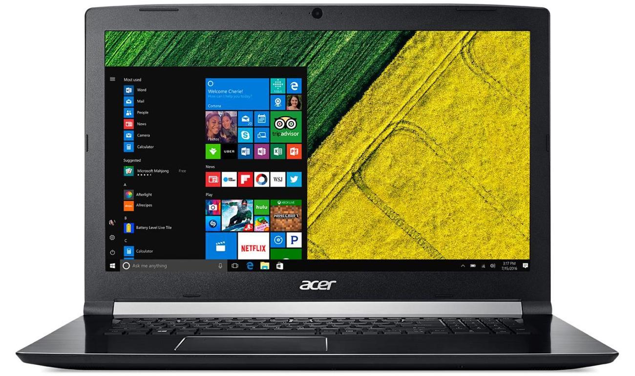Acer Aspire 7 GPU GTX 1050ti