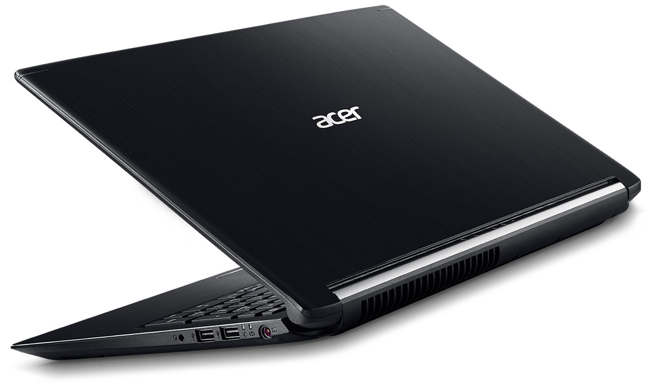 Acer Aspire 7 Ponadczasowe wzornictwo, szczotkowane aluminium