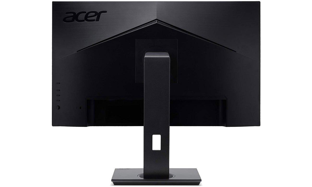 Acer B247Y Widok z tyłu, głośniki