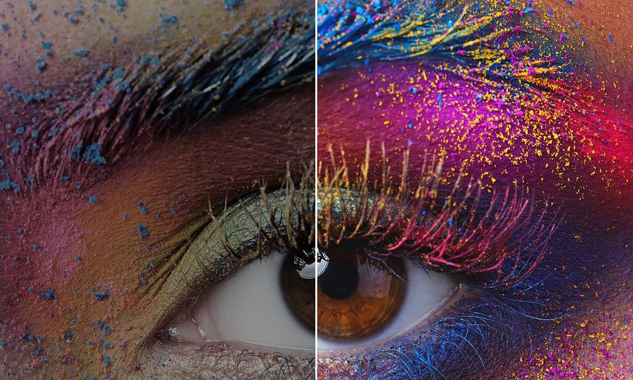 Szeroka gama kolorów