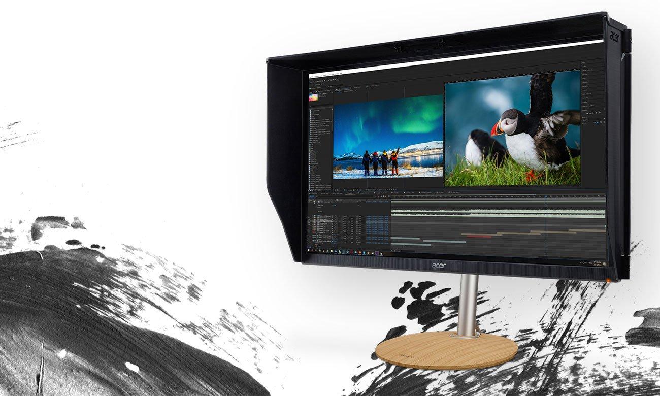 Monitor do obróbki grafiki i zdjęć Acer ConceptD CP3271KP