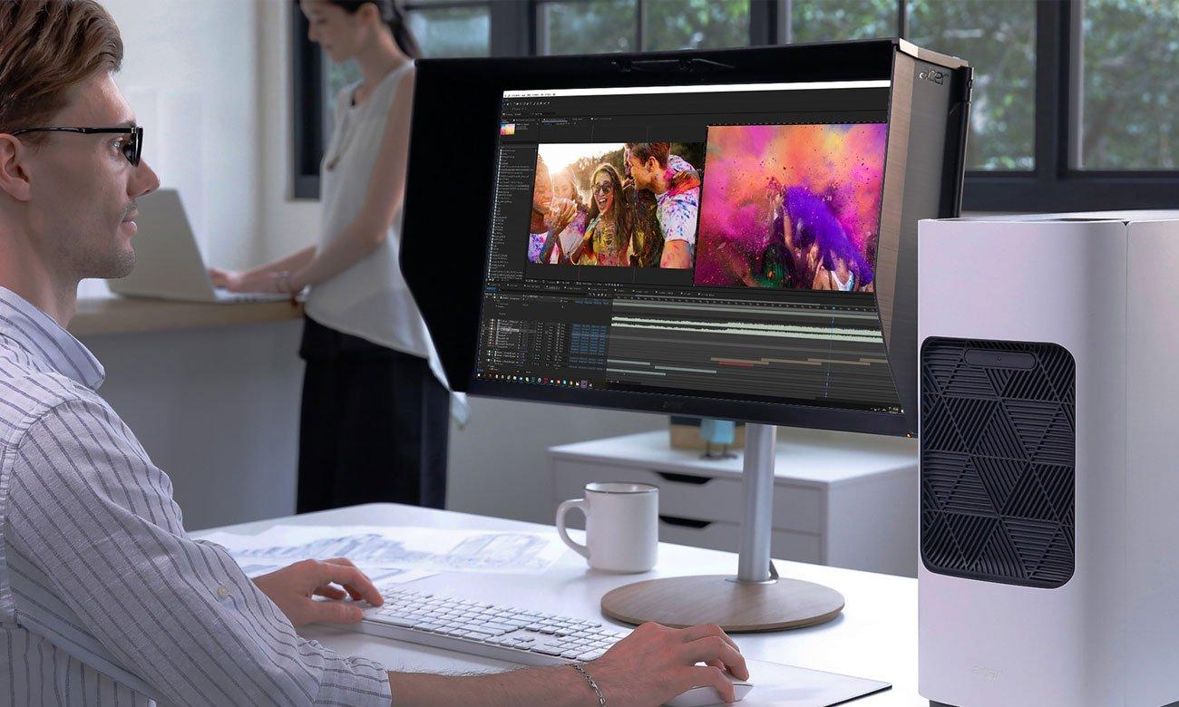 Monitor dla grafika i fotografa Acer ConceptD CP7271KP