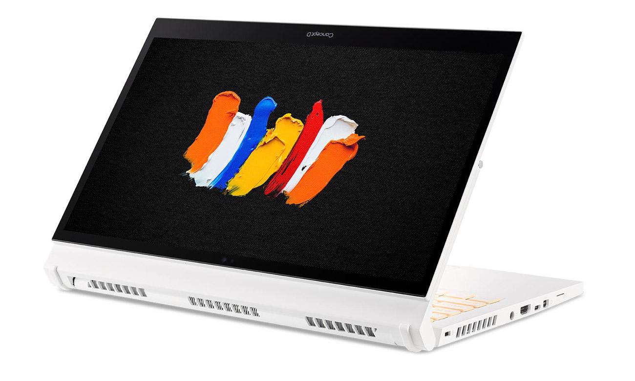 Podświetlana klawiatura w Acer ConceptD 3 Ezel