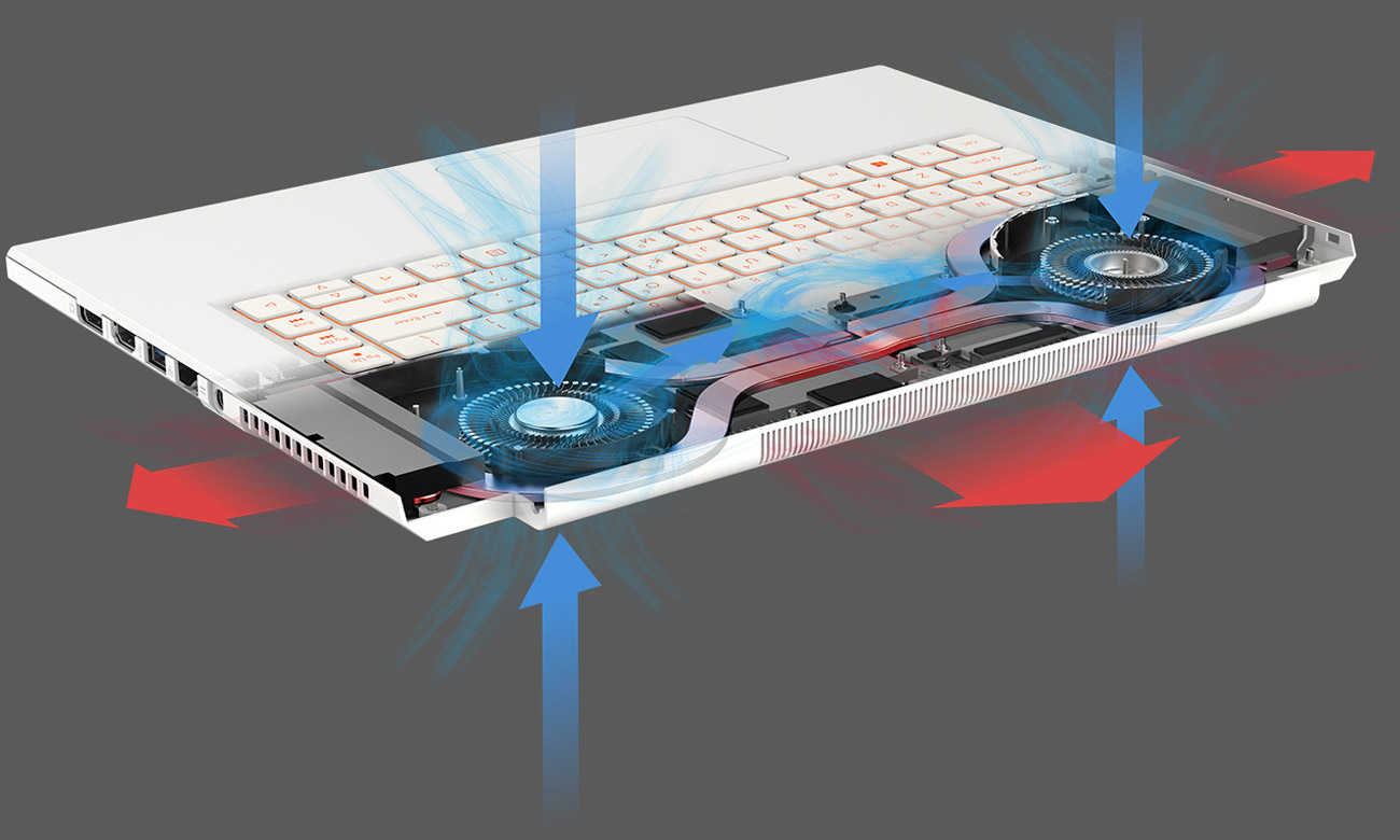 Chłodzenie Acer ConceptD 7