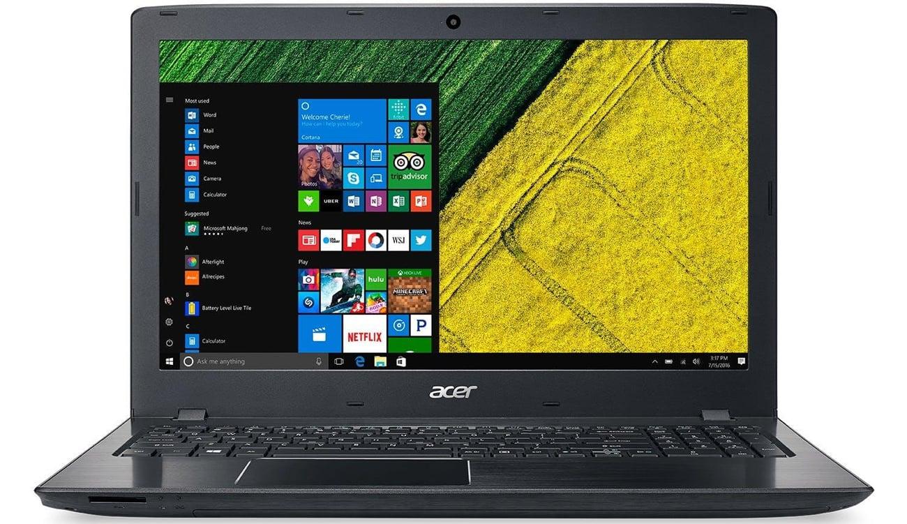 Acer ES1-533 układ graficzny intel hd graphics