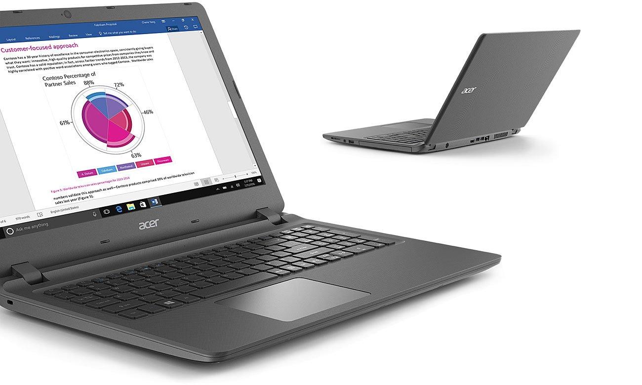Acer Extensa 2540 Przenośny, solidny i wydajny