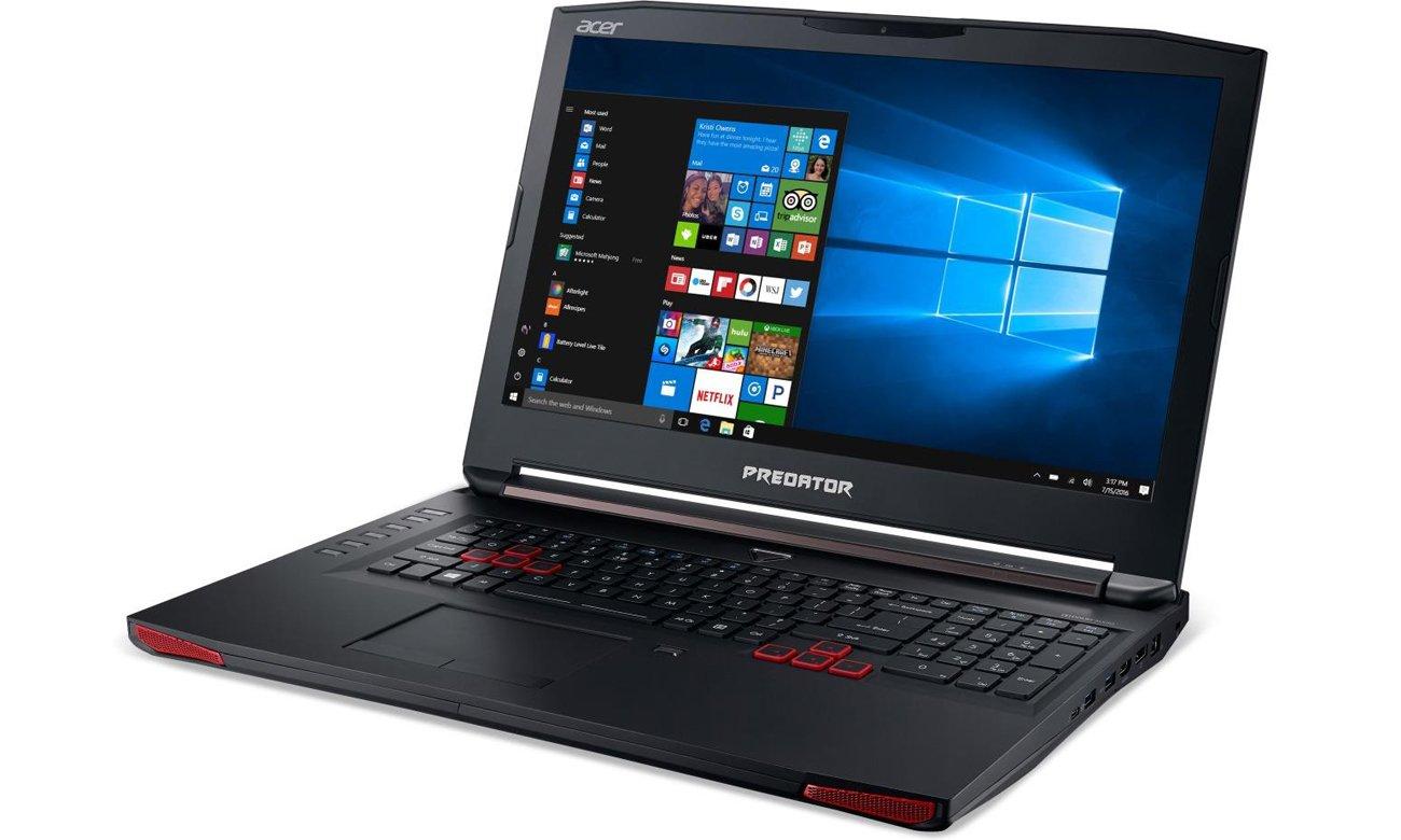 Acer Predator układ graficzny gtx 1060