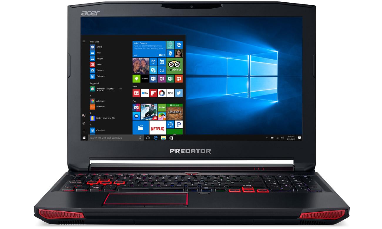 Acer G9-593 z kartą graficzną geforce gtx 1070
