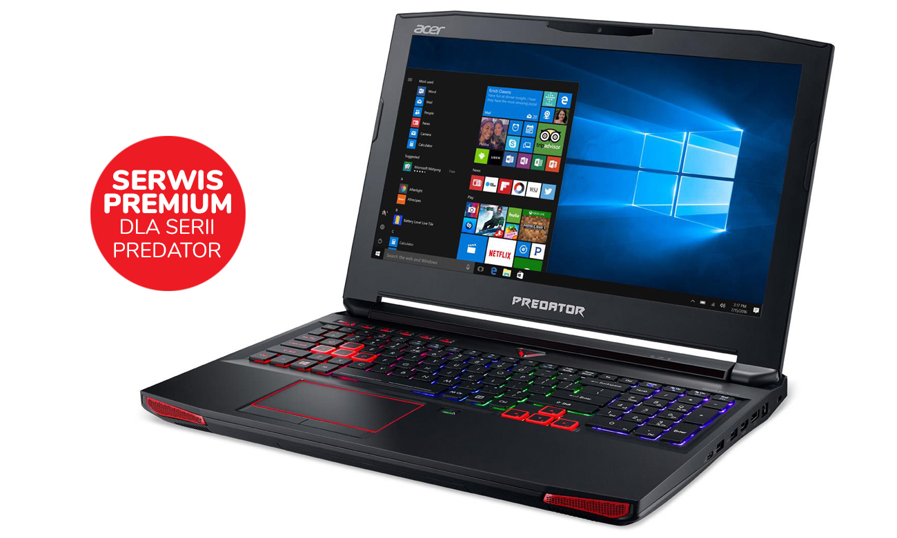 Acer Predator G9-593 Serwis Premium