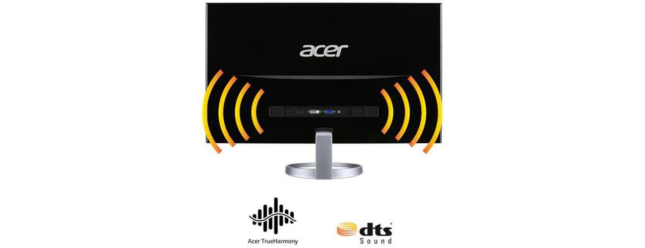 Acer H277HSMIDX Audio