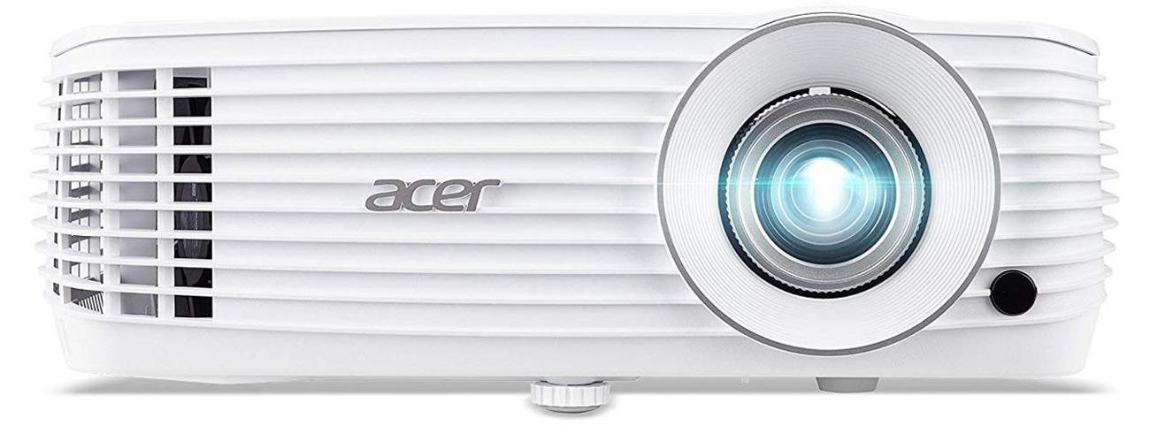 Acer H6810 widok z przodu lampa