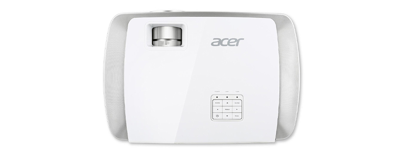 Acer H7550ST widok z góry