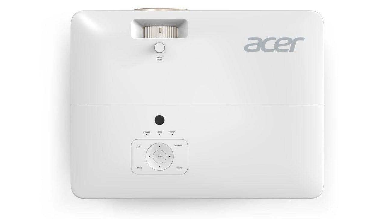 Acer H7850 DLP Łatwa Obsługa
