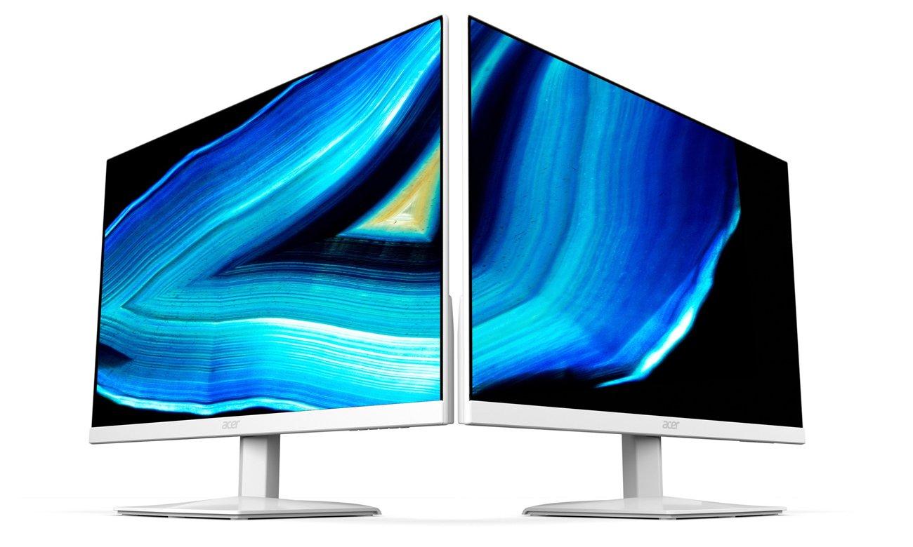 Acer HA240YAWI biały eleganckie wzornictwo