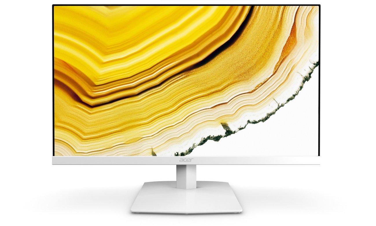 Acer HA240YAWI biały redukcja zmęczenia oczu wygoda oglądania