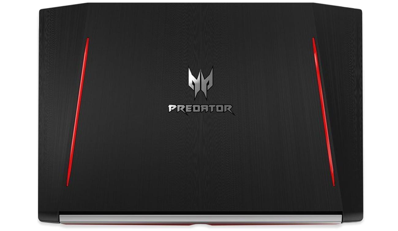 Acer Helios 300 агрессивный внешний вид