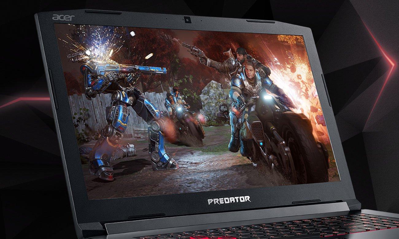 Acer Helios 300 Doskonały ekran IPS Szersze kąty widzenia