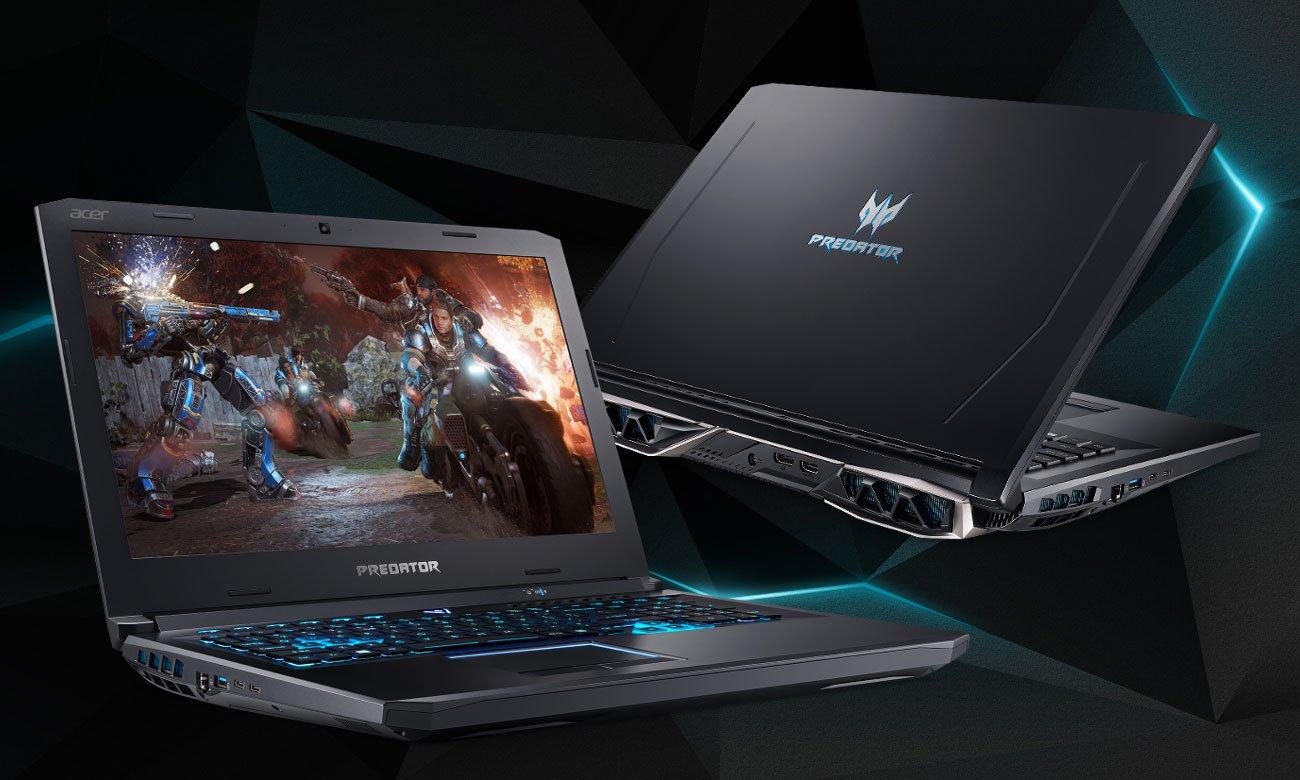 Acer Predator Helios 500 agresywny wygląd