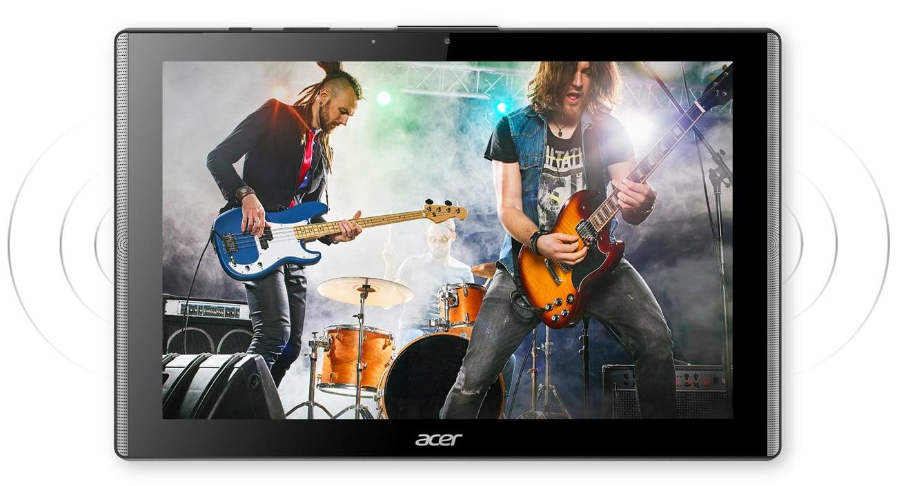 Acer Iconia One 10 wydajny system audio