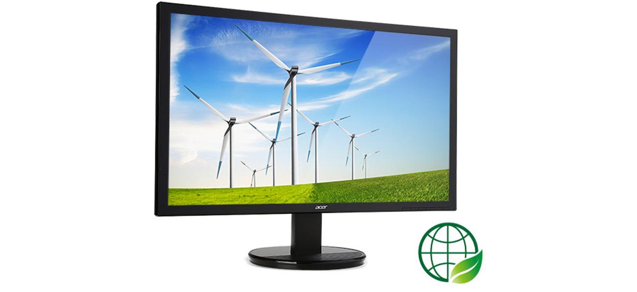 Acer K242HYLbid Ekologiczna Budowa
