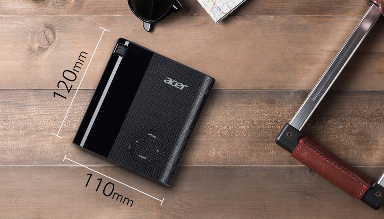 Acer C200 DLP Niewielkie wymiary