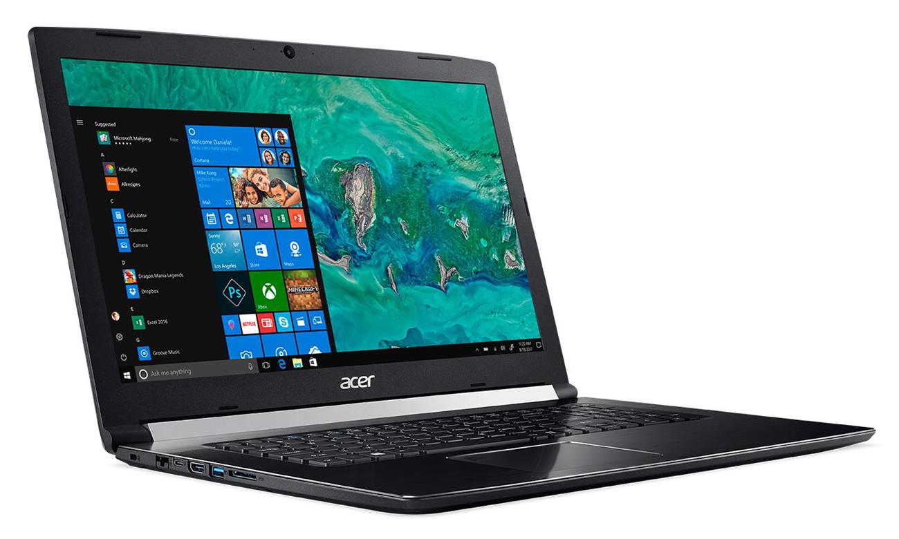 Acer Aspire 7 Perfekcyjny gaming z GeForce GTX 1050