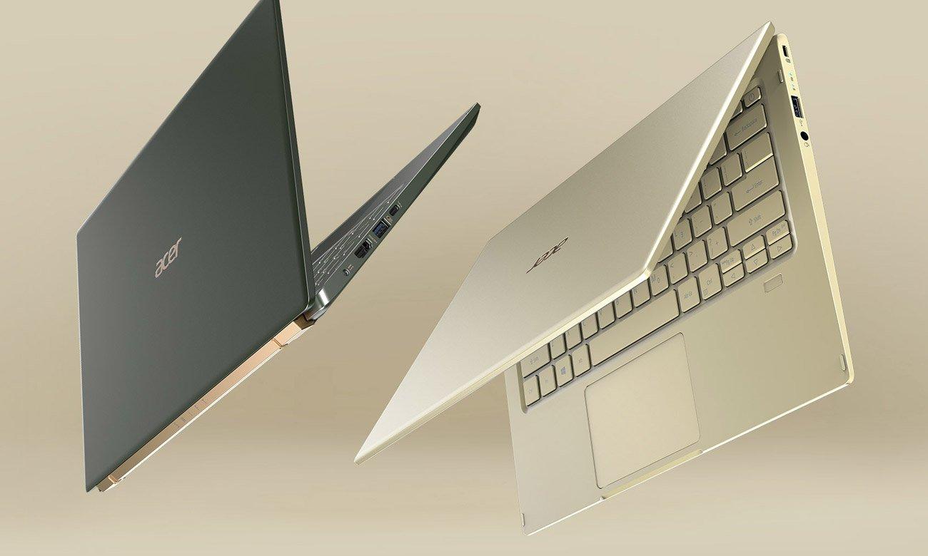 Nowoczesny wygląd Acer Swift 5