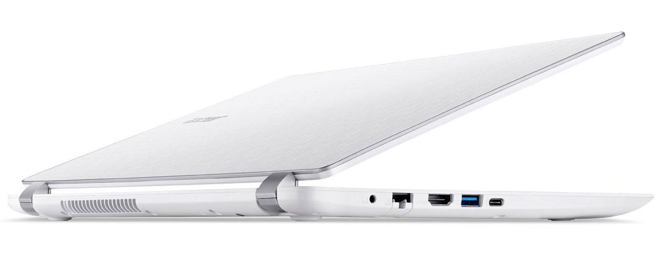 Acer Aspire V eleganckie wzornictwo aluminiowa pokrywa