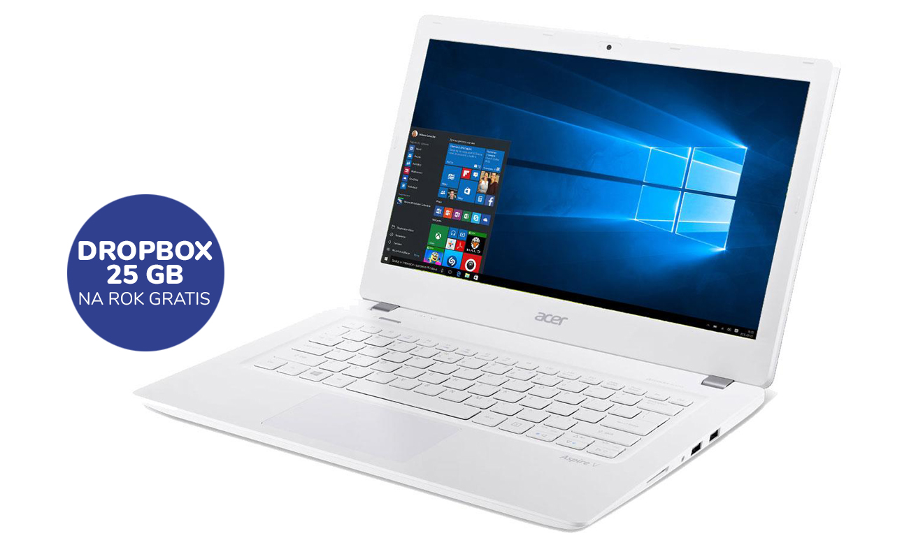 Acer Aspire V 13 25GB DropBox