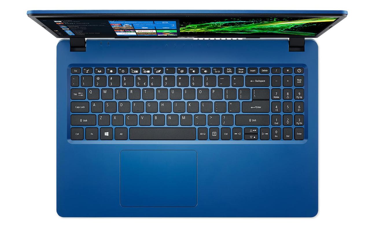 Функциональность Acer Aspire 3